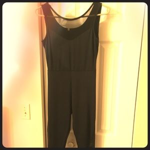 One piece pantsuit with open back 😁😁